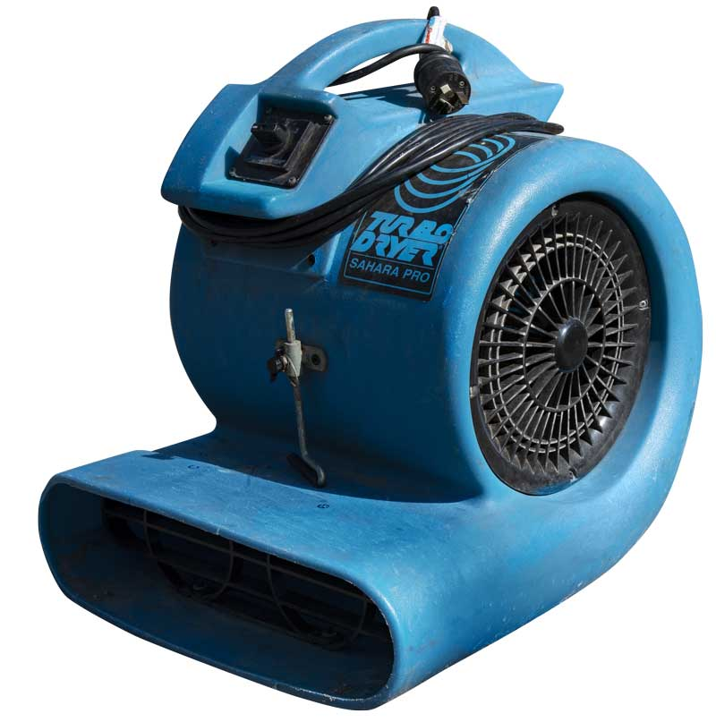 Fan Blower Flood Restoration
